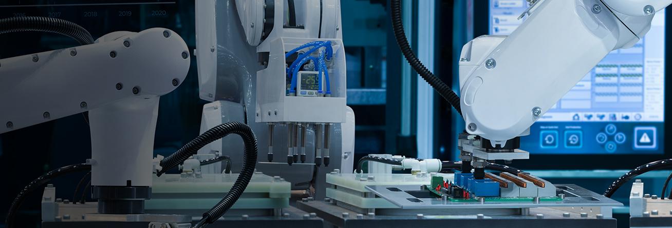 Industry solutions header