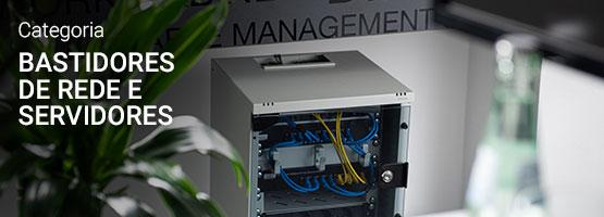 Bastidores de rede e servidores