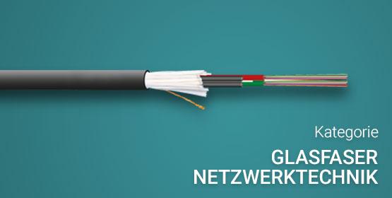 Kategorie Glasfaser Netzwerktechnik