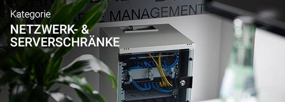 Kategorie Netzwerk- und Serverschränke