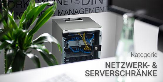 Netzwerk und Serverschränke