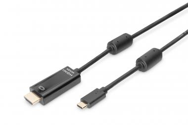 USB Type-C™Gen2 adapter / converter cable, Type-C™ to HDMI A