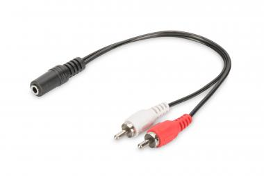 Audio Adapter / Converter, 3.5mm stereo