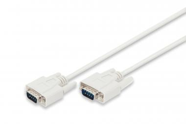 Datatransfer connection cable, D-Sub9/M - D-Sub9/M