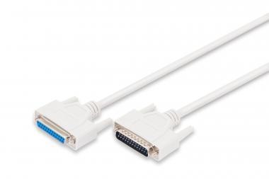 Datatransfer extension cable, D-Sub25/M - D-Sub25/F