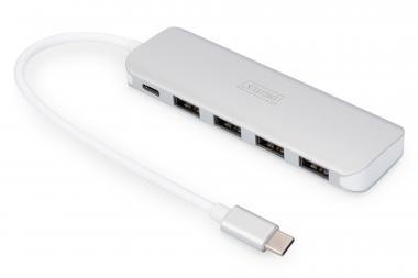 USB Type-C™ 4 port hub (USB 3.0) + PD