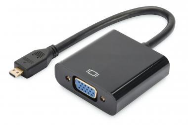 Micro-HDMI to VGA converter