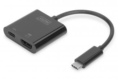 USB Type-C™ 4K HDMI Graphics Adapter + USB-C™ (PD)