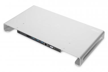 USB-C™ 11-in-1 Docking Station with Aluminium Monitor Stand
