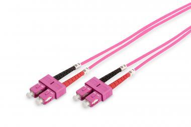 Optički multimodni prespojni kabel, OM4, SC / SC