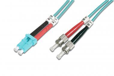 Optički multimodni prespojni kabel, OM3, LC / ST