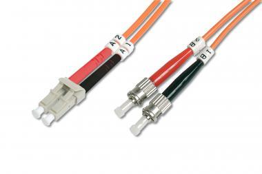 Optički multimodni prespojni kabel, LC / ST