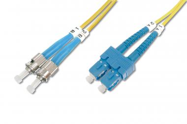 Fiber Optic Singlemode Patch Cord, ST / SC