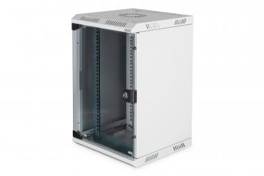 "Combi Wall Mounting Cabinet 254 mm (10"") and 482.6 (19"") mm"