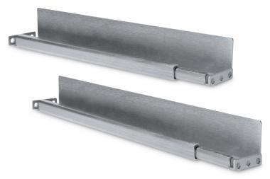 "L-Support Sliding Rails for 483 mm (19"") Network Cabinets"