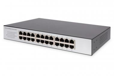 24 Port Fast Ethernet Switch, Unmanaged