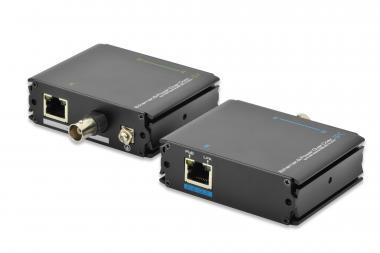 Fast Ethernet PoE + VDSL Extender set - over 500m