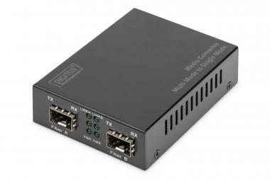 Gigabit Multimode/Singlemode Media Converter SFP