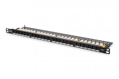 CAT 6, Class E High Density Patch Panel, unshielded