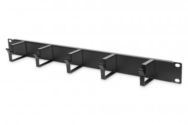 """Cable Management Panel with Cable Rings for 483 mm (19"""") Cabinets, 1U"""