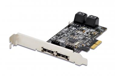 SATA III PCI Express card, 4-port