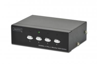 VGA Switch 4 PCs, 1 Monitor