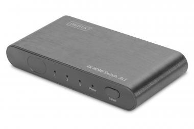 4K HDMI Switch, 3x1