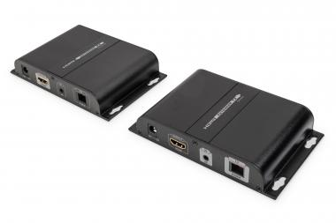 HDMI fiber optic extender set, 20 km