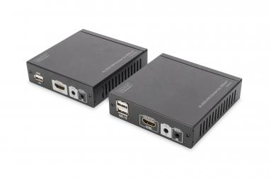 4K HDMI KVM Extender Set, HDBaseT™, 4K/30Hz