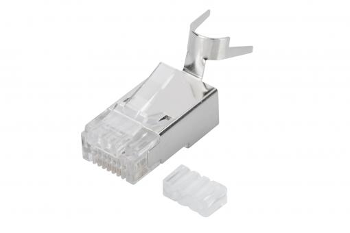 Modular Plug for Round Cable, CAT 6A, shielded