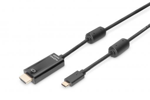 Kabel połączeniowy USB Type-C™ gen. 2, Type-C™ na HDMI A