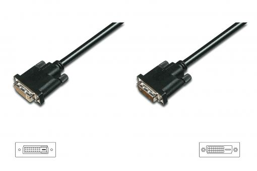 DVI extension cable, DVI(24+1)/M - DVI(24+1)/F