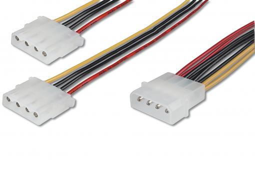 Internal Y-power supply cable