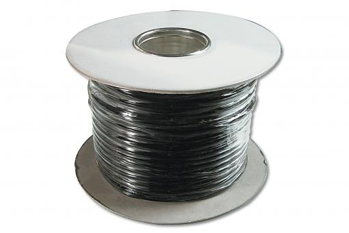 Flat telephone installation cable