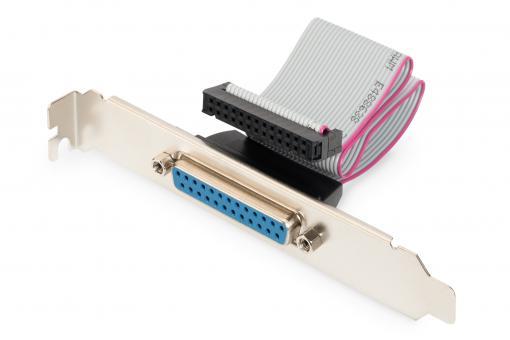 Cable de impresora con placa de ranura