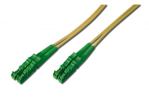 Fiber Optic Patch Cord, E2000 (8° APC) to E2000 (8° APC), Singlemode