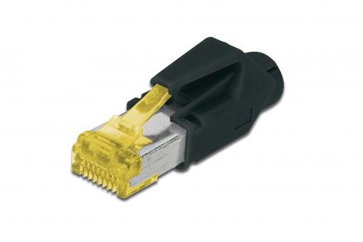 Hirose modular plugs TM31 for round cable, CAT 6A