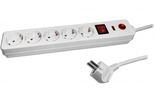 V-TAC 5-way Office Power Strip with switch