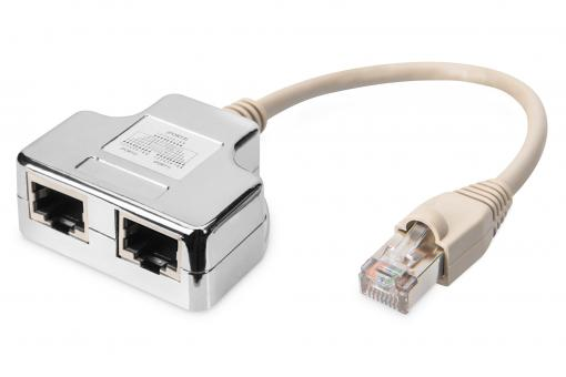 Patch Cable Adapter, CAT 5e, shielded - 1:1