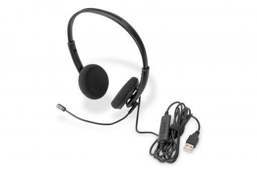 Ear Office Headset mit Geräuschreduzierung, USB
