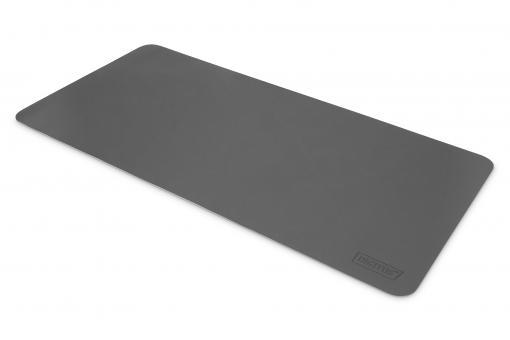 Schreibtischunterlage / Mauspad (90 x 43 cm), grau / dunkel-grau