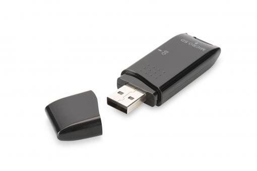 Uniwersalny czytnik kart USB 2.0