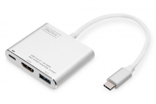 Adattatore multiporta USB Type-C ™ 4K HDMI, a 3 porte
