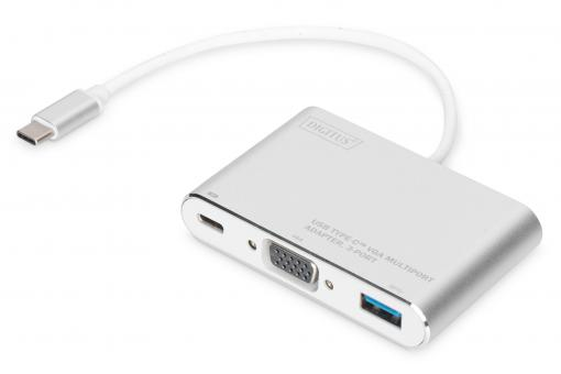 USB Type-C™ VGA Multiport Adapter, 3-Port