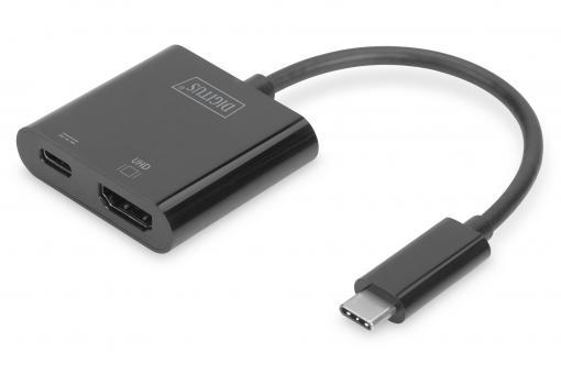 Adapter graficzny 4K USB Type-C™ HDMI + USB-C™ (PD)