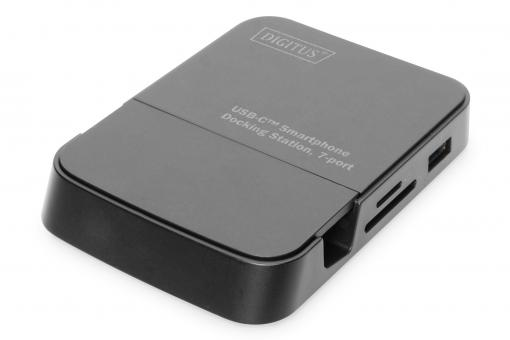 Estación de acoplamiento para smartphone USB-C™, 7 puertos