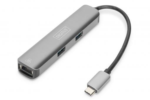 Acoplamiento USB-C™, 5 puertos