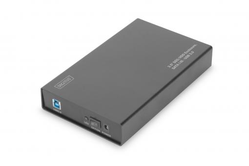"3.5"" SSD/HDD Enclosure, SATA 3 - USB 3.0"