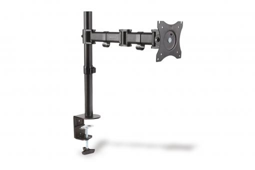 Universal single monitor clamp mount