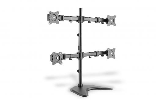 Universal Quad Monitor mount stand/clamp option